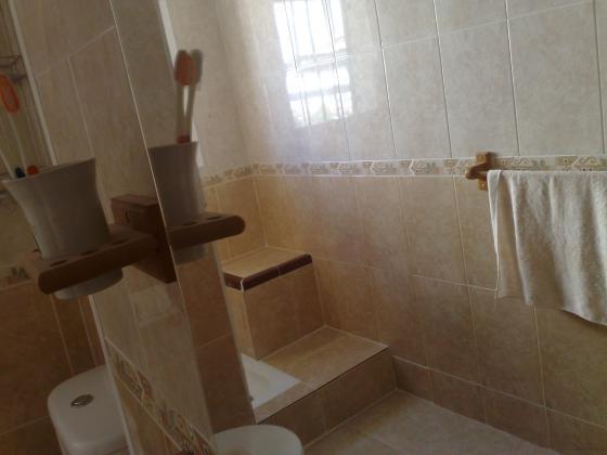 Creación de banco en ducha