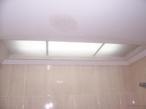 luz empotrada en techo