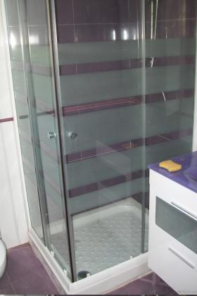Plato de ducha com mampara