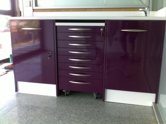 mobiliario con cierre centralizada para gabinetes