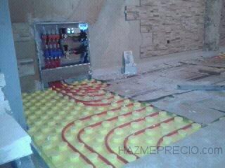 instalación de calefacion por suelo