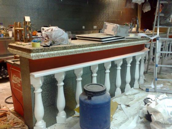 Parte del proceso de obra del local destinado a Pub Brisas de la Habana