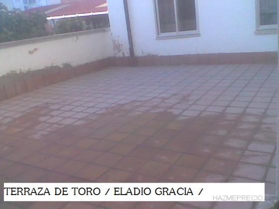 SOLADO DE TERRAZA Y RODAPIE
