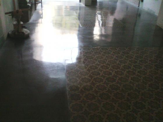 Como pulir un suelo de terrazo fabulous como pulir un for Como abrillantar un suelo de terrazo