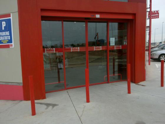 Puertas rapidas de cristal ( automaticas)
