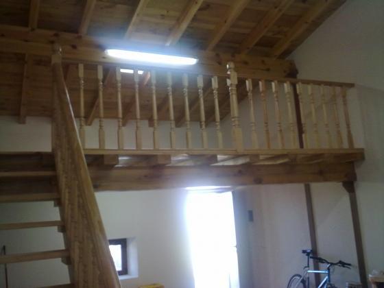 Balustrada y doblado