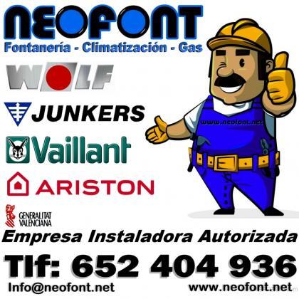 FONTANERIA CALEFACCIÓN Y GAS EN ALICANTE