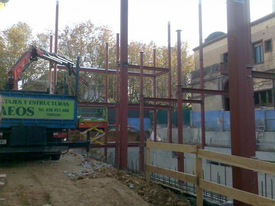 Daeos montajes y servicios 08225 terrassa barcelona Empresas de construccion en barcelona
