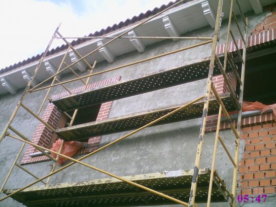 Reforma y terminacion de obra en exteriores en Segovia- Vivienda unifamiliar 2012