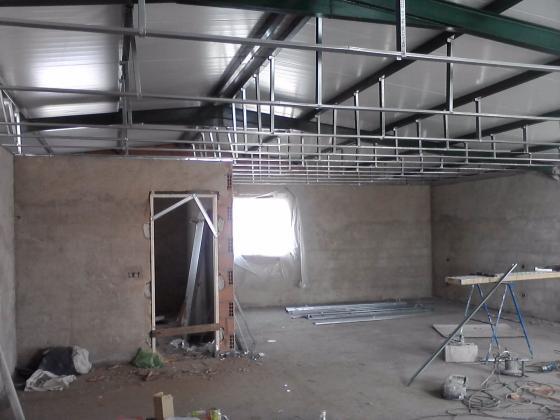 estructura falso techo