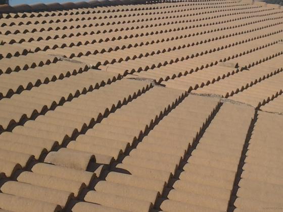 Construcciones de tejados.