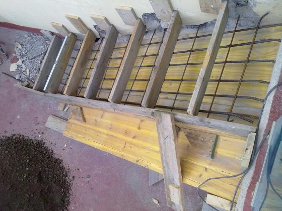 Rafonso 35007 palmas de gran canaria las las palmas for Encofrado de escaleras de concreto