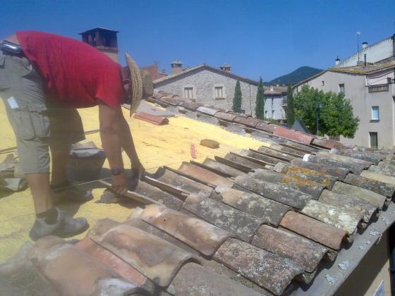 Reabilitación de tejado