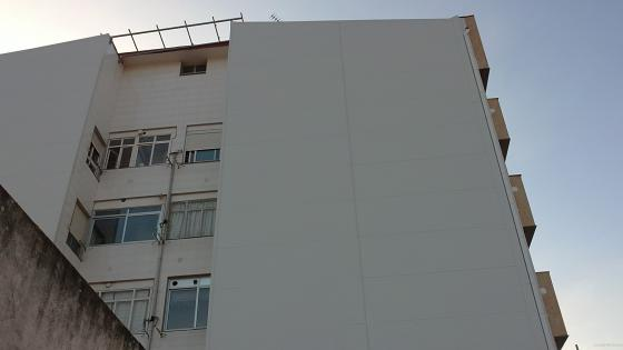 fachada en panel