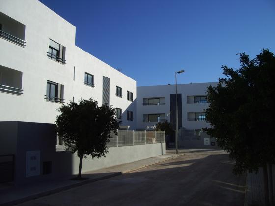 Edificio de 24 viviendas VPO en Ibiza.