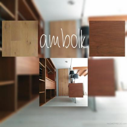 Vestidor diseñado por Ambolk carpintería