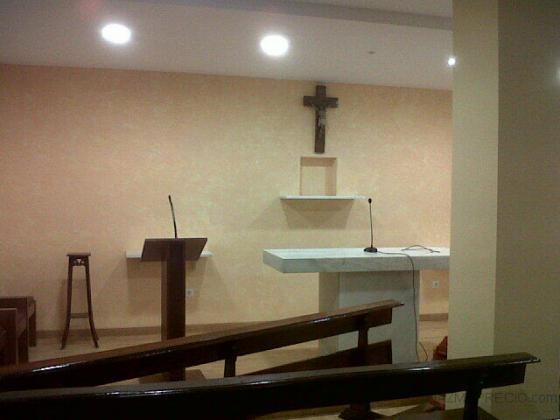 Estuco veneciano en Iglesia