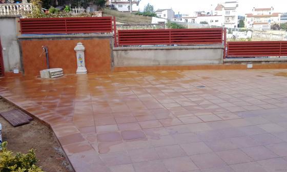 suelo terraza