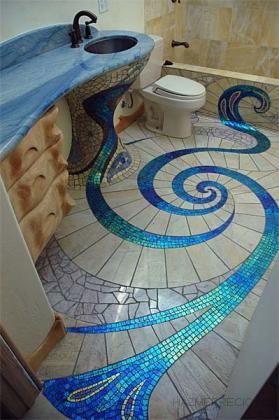 Baño artistico