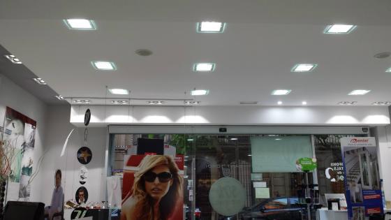 Instalación luminaria LED