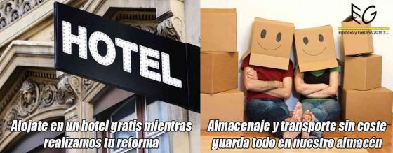 ESTANCIAS GRATUITAS EN HOTELES PARA MAX. DOS PERSONAS