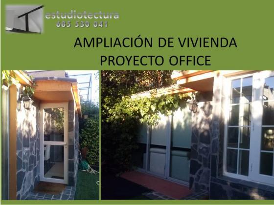 Ampliación de chalet, Office. La Moraleja, Madrid