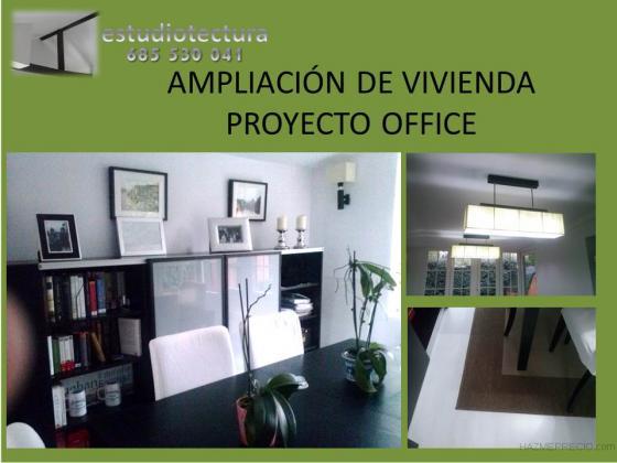 Ampliación de chalet, Office.
