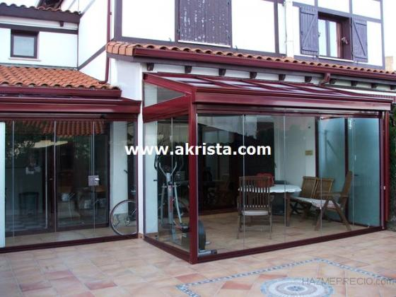 Techos y cortinas de cristal 48993 getxo vizcaya - Techos para terrazas precios ...