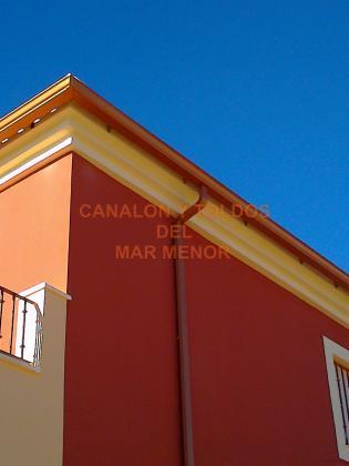 CANALON DE ALUMINIO