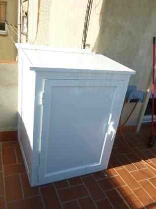 Para nuestra familia armario para lavadora exterior - Armario para lavadora ...