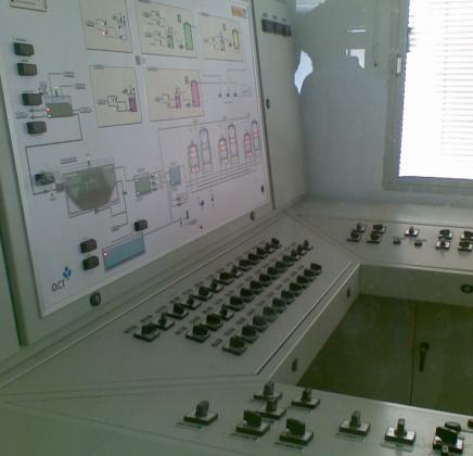 Cuadros electricos de mando y control, con automatas