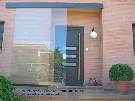 Puerta vidrio corredera superior
