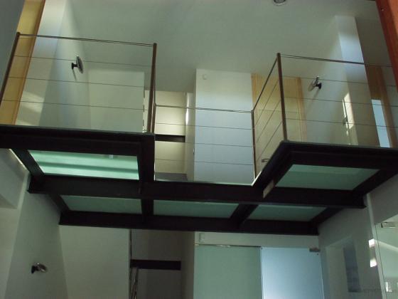 Interior vivienda vioclimatica