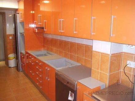 Cocina moderna Naranja