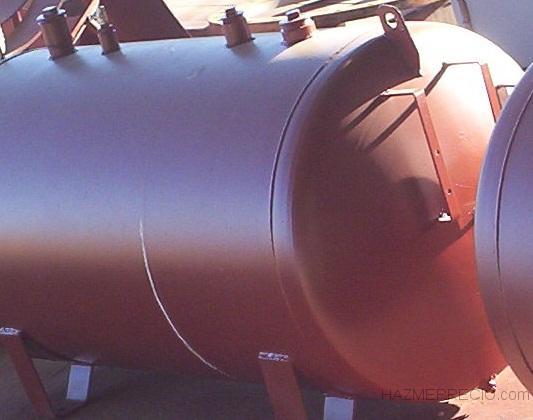Depósitos de combustible aéreos y enterrados
