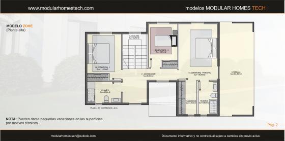 Viviendas modulares modular homes tech 15174 culleredo - Casas prefabricadas coruna ...