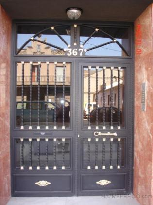 puerta patio