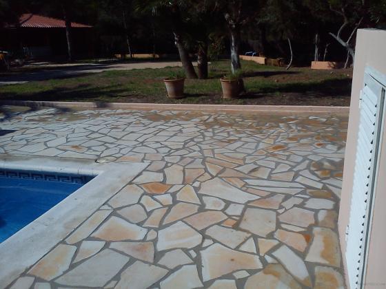 suelo de piedra alemana