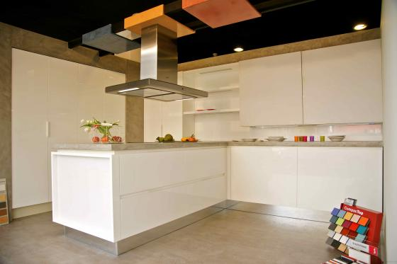 microcemento exposición de cocina
