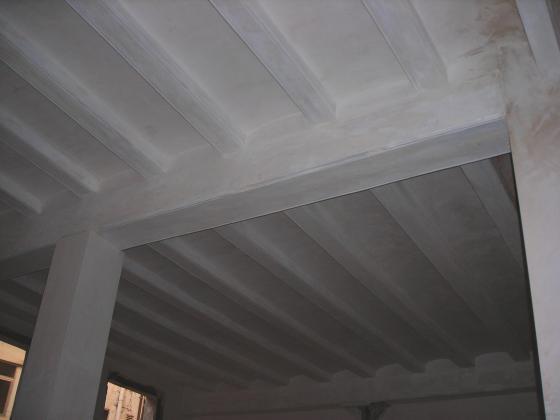 Enyesado de techos con bobeda