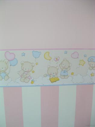 papel pintado y pintura dormitorio juvenil
