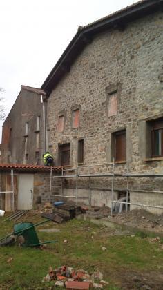 Rehabilitación en Guriezo, Fachada de piedra Feinco SL
