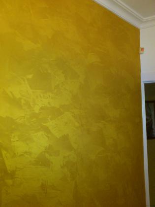 estuco aureum efecto oro