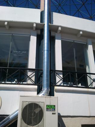 Climatización y renovación de aire en local.
