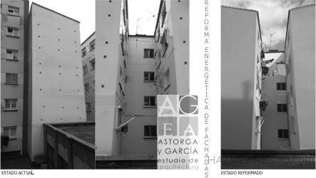 Rehabilitación energética de fachadas en Gijón