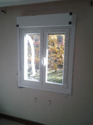 Instalación ventana de 2 hojas