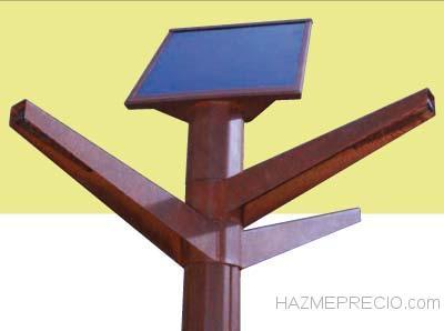 Farola Solar, Mobiliario Urbano