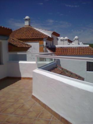 Barandilla de terraza con vidrio de seguridad