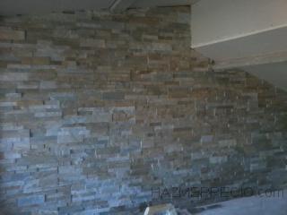 alicatado de paredes de piedra