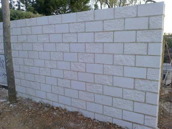 Muros de bloque de hormigón y vallados